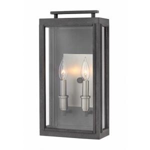 Sutcliffe - 17 Inch Two Light Outdoor Medium Wall Mount