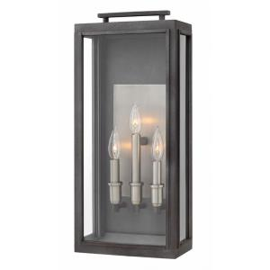 Sutcliffe - 22 Inch Three Light Outdoor Large Wall Mount
