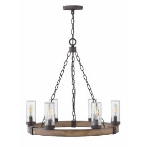 Sawyer - Six Light Outdoor Chandelier