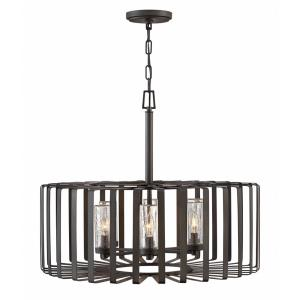 Reid - Six Light Outdoor Large Chandelier