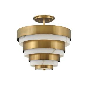 Echelon - 3 Light Chandelier in Transitional, Mid-Century Modern Style - 15.5 Inches Wide by 15.75 Inches High
