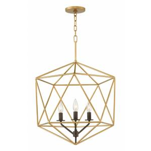 Astrid - 3 Light Medium Open Frame Chandelier