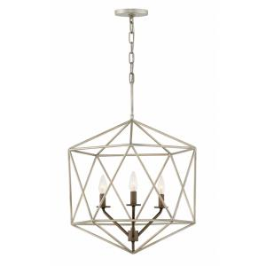 Astrid - Three Light Medium Open Frame Chandelier