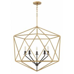 Astrid - 5 Light Large Open Frame Chandelier