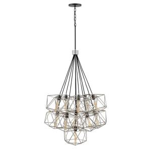 Astrid - 11 Light Multi-Tier Chandelier in Transitional Style - 33.5 Inches Wide by 42.75 Inches High