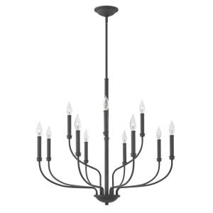Alister - Twelve Light 2-Tier Chandelier