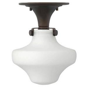 "Congress - 11"" One Light Semi-Flush Mount"