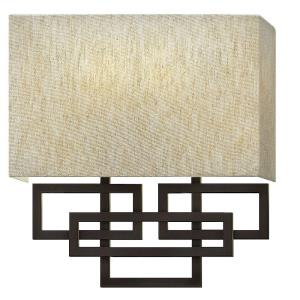 Lanza - 2 Light Wall Sconce in Transitional Style - 10 Inches Wide by 11.5 Inches High