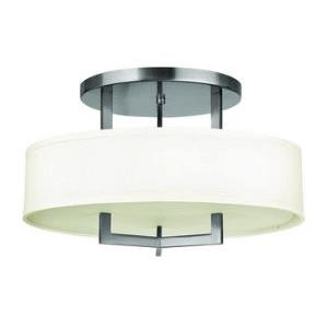 Hampton - 12 Inch Semi-Flush Mount