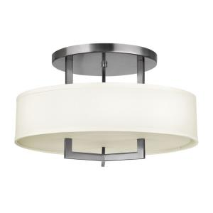 Hampton - 3 Light Medium Semi-Flush Mount