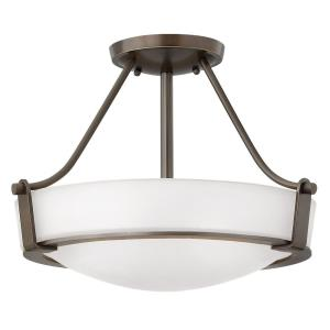 Hathaway - 16 Inch Medium Semi-Flush Mount