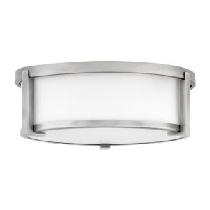 Lowell - 2 Light Medium Flush Mount in Transitional Style - 13.25 Inches Wide by 4.75 Inches High