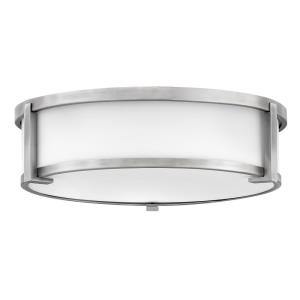 Lowell - Three Light Flush Mount