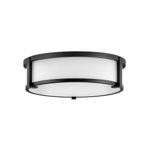 Lowell - 3 Light Large Flush Mount in Transitional Style - 16 Inches Wide by 4.75 Inches High