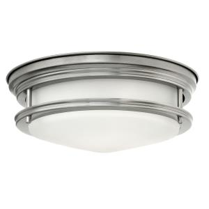 2 Light Ceiling Flush Mount Steel