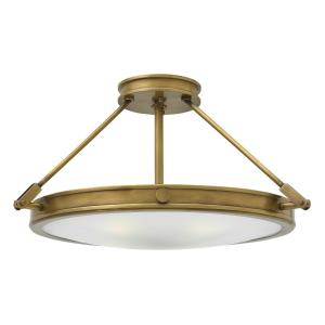 Collier - 22 Inch 16W LED Medium Semi-Flush Mount