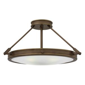 Collier - 4 Light Medium Semi-Flush Mount