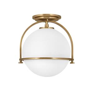 Somerset - 1 Light Small Semi-Flush Mount