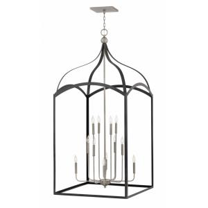 Clarendon - 12 Light Extra Large 3-Tier Open Frame Chandelier in Traditional Style - 30 Inches Wide by 65 Inches High