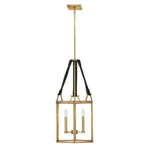 Monroe - Three Light Small Open Frame Chandelier