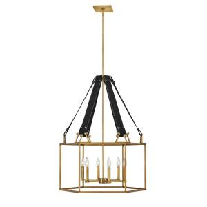 Monroe - 6 Light Medium Open Frame Chandelier