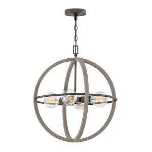 Bodie - Four Light Small Orb Chandelier