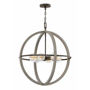 Bodie - Six Light Medium Orb Chandelier