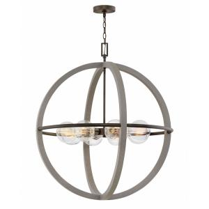 Bodie - Eight Light Large Orb Chandelier