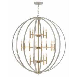 Euclid - Sixteen Light 3-Tier Chandelier