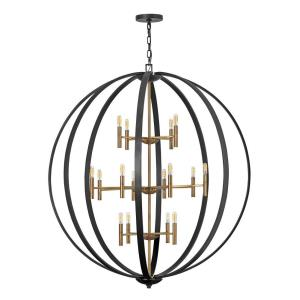 Euclid - Sixteen Light Extra Large Orb Chandelier
