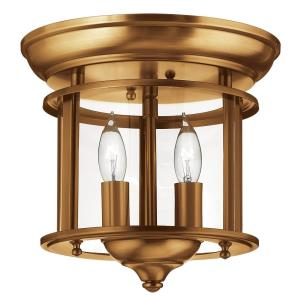 Gentry - Two Light Flush Mount