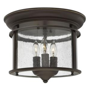 Gentry - 3 Light Medium Flush Mount in Traditional Style - 11.5 Inches Wide by 9.5 Inches High
