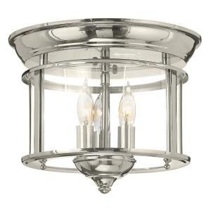 Gentry - 3 Light Medium Flush Mount