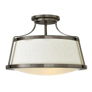 Charlotte - Three Light Semi-Flush Mount