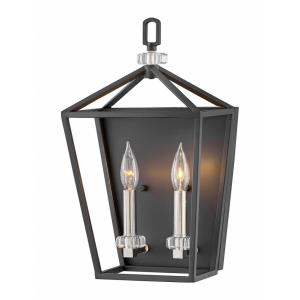Stinson - 2 Light Wall Sconce in Transitional Style - 10 Inches Wide by 17 Inches High