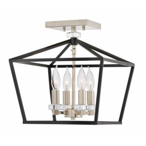 Stinson - Four Light Semi-Flush Mount