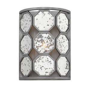 Lara - One Light Wall Sconce in Transitional, Glam Style - 8.5 Inches Wide by 11.5 Inches High