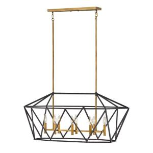 Theory - Eight Light Linear Pendant