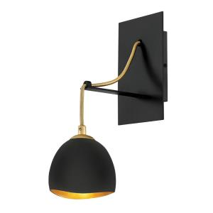 Nula - 1 Light Wall Sconce in Modern, Glam Style - 5 Inches Wide by 13 Inches High