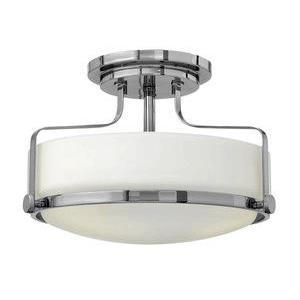 Harper - 14.5 Inch 3 Light Medium Semi-Flush Mount