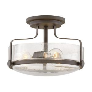 "Harper  - 14.5"" Three Light Semi-Flush Mount"