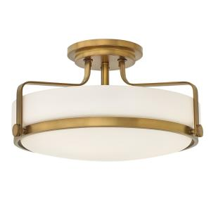 Harper - 18 Inch 3 Light Large Semi-Flush Mount
