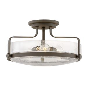 Harper - 3 Light Large Semi-Flush Mount