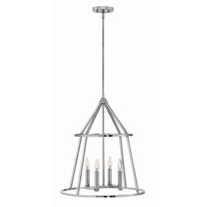 Middleton - 20 Inch Four Light Stem Hung Pendant