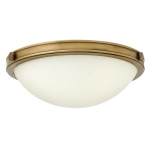 Maxwell - 2 Light Small Flush Mount in Transitional Style - 13.75 Inches Wide by 5 Inches High