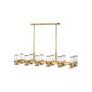 Reeve - 12 Light Linear Chandelier