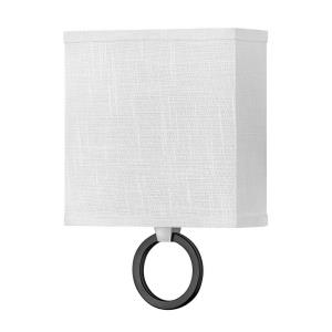 Link - 16W 1 LED Wall Sconce in Traditional Style - 8 Inches Wide by 11.75 Inches High