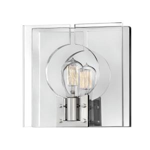 Ludlow - 1 Light Wall Sconce in Transitional, Modern, Scandinavian Style - 10.5 Inches Wide by 10.5 Inches High