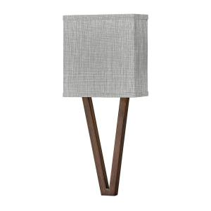 Vector - 16W 1 LED Wall Sconce in Transitional Style - 8 Inches Wide by 18.5 Inches High