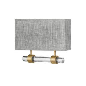 Luster - 32W 2 LED Wall Sconce in Traditional, Glam Style - 15 Inches Wide by 11.75 Inches High
